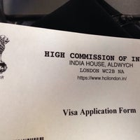 Photo taken at Indian Visa Application Centre by Alfama on 1/9/2015