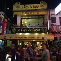 Photo taken at Le Tigre De Papier by Zsolt K. on 1/4/2013