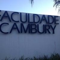 Foto tirada no(a) Faculdade Cambury por Evandro G. em 8/20/2013