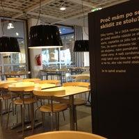 Photo taken at IKEA restaurace by Mcha K. on 5/1/2013