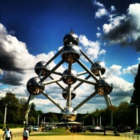 Photo taken at Atomium by Pieter M. on 6/2/2013