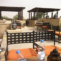 Photo taken at Rooftop Bar Bab Al Shams by Tamara D. on 4/5/2013