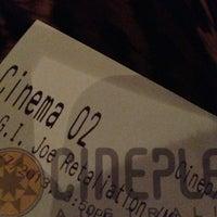 4/7/2013 tarihinde JeeaaBziyaretçi tarafından Balmoral Cineplex'de çekilen fotoğraf