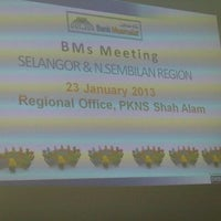 Photo taken at PKNS Shah Alam by Mohd Amin M. on 1/23/2013
