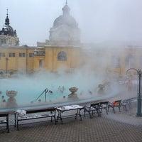 Photo taken at Széchenyi Thermal Bath by Zsolti V. on 2/11/2013