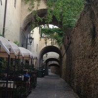 Photo taken at Il Borgo Medievale by Marco N. on 8/28/2013