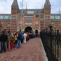 Photo taken at Rijksmuseum by Martijn d. on 5/2/2013