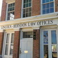 Photo taken at Lincoln-Herndon Law Office by Randall N. on 10/9/2013