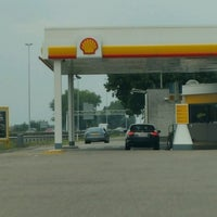 Photo taken at Shell Blommendaal by Guus D. on 9/25/2016