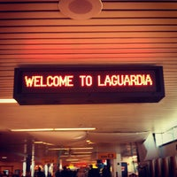 Photo taken at LaGuardia Airport (LGA) by Grace R. on 5/1/2013