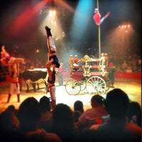 Photo taken at Big Apple Circus by Howard J. on 5/19/2013