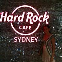 Photo taken at Hard Rock Cafe Sydney by april m. on 2/1/2013