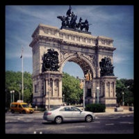 Photo taken at Grand Army Plaza by Jim H. on 6/23/2013