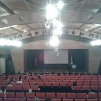 Photo taken at Üsküdar Üniversitesi Nermin Tarhan Konferans Salonu by Ali A. on 8/29/2013