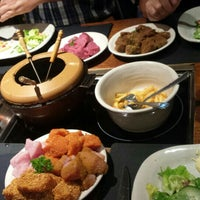 Photo taken at Fondue Huisje Le Bourguignon by Anissaa M. on 9/13/2015