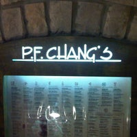 Photo taken at P.F. Chang's by Andre J. on 2/13/2013