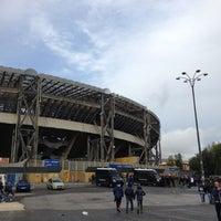 Photo taken at Stadio San Paolo by Francesco P. on 12/2/2012