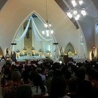 Photo taken at Gereja Katolik Katedral Santa Perawan Maria Dari Gunung Karmel by F Ari Wibowo on 8/25/2016