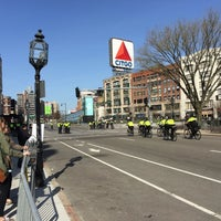Photo taken at Kenmore Square by Todd V. on 4/18/2016