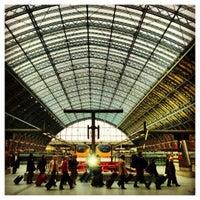Photo taken at London St Pancras International Eurostar Terminal by Paul H. on 10/19/2012