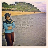 Photo taken at Sadranan Beach - Yogyakarta by Amalia B. on 1/18/2014