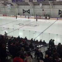 Photo taken at Dwyer Arena by Ben K. on 2/9/2013