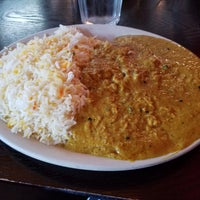 Photo taken at Akbar Cuisine of India by Kelley L. on 11/12/2016