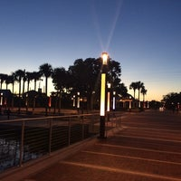 Photo taken at Kissimmee Lakefront Park by Asrar on 8/27/2014