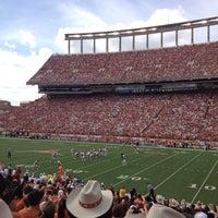 Photo taken at Darrell K. Royal-Texas Memorial Stadium by Etienne P. on 11/10/2012