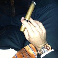 Photo taken at Cigar Bar & Grill by Chris B. on 10/28/2012