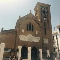 Photo taken at Eglise Ntra Sra de las Victorias by Mourad B. on 7/27/2016