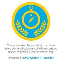 Photo taken at SMA Kristen 1 Tomohon by Ed S. on 12/29/2013