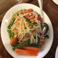 Photo taken at SriPraPhai Thai Restaurant by Teresa C. on 4/20/2013
