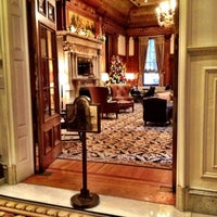 Photo taken at The Union League of Philadelphia by Sean D. on 12/19/2012
