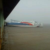 Photo taken at Pelabuhan Tanjung Buton Riau by Heru S. on 11/23/2012
