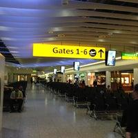 Photo taken at Terminal 4 by Vladimir K. on 5/31/2013