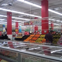 Photo taken at Carrefour by Budi S. on 5/23/2014