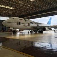 Photo taken at GMF AeroAsia by Hilman H. on 11/28/2015