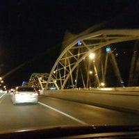 Photo taken at Dechatiwong Bridge by Amzii O. on 7/19/2016