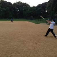 Photo taken at Central Park - North Meadow Fields 1-4 by Jase on 7/11/2013