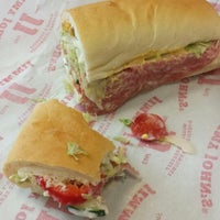 Photo taken at Jimmy John's by Erica T. on 9/4/2013