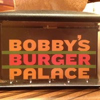 Photo taken at Bobby's Burger Palace by Ximena C. on 3/28/2013