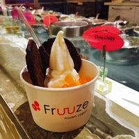 Photo taken at Fruuze Frozen Yogurt by Jo Ann on 12/7/2015