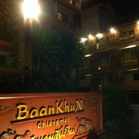 Photo taken at BaanKhun Chiang Mai by Noonna on 10/31/2014