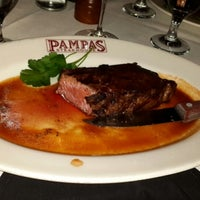 Photo taken at Pampas Argentine Steakhouse by Erkmen O. on 1/14/2016