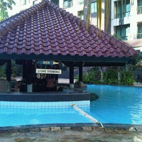 Photo taken at Swimming Pool Kristal Hotel by Faizal D. on 4/19/2013