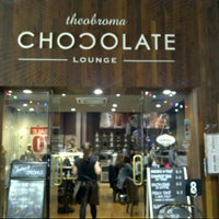 Photo taken at Theobroma Chocolate Lounge by Loopy ^. on 1/4/2014