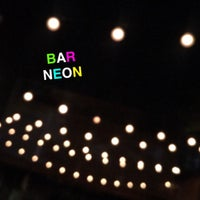 Photo taken at Bar Neon by Casie S. on 5/26/2016