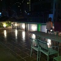 Photo taken at WE Bangkok Hostel by Justine L. on 9/6/2013
