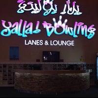 Photo taken at Yalla Bowling Lanes by Noura Aldossarey on 6/18/2014